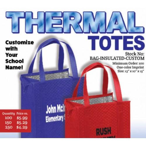 d95ddf329 Custom Insulated Tote Bag
