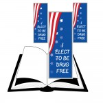 Bookmark - I ELECT TO BE DRUG FREE - Red Ribbon Week